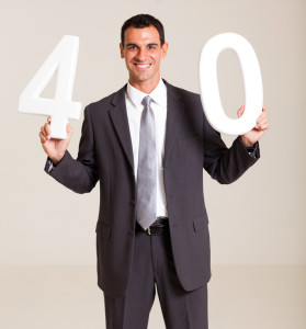 businessman turning 40