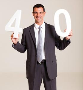businessman turning 40